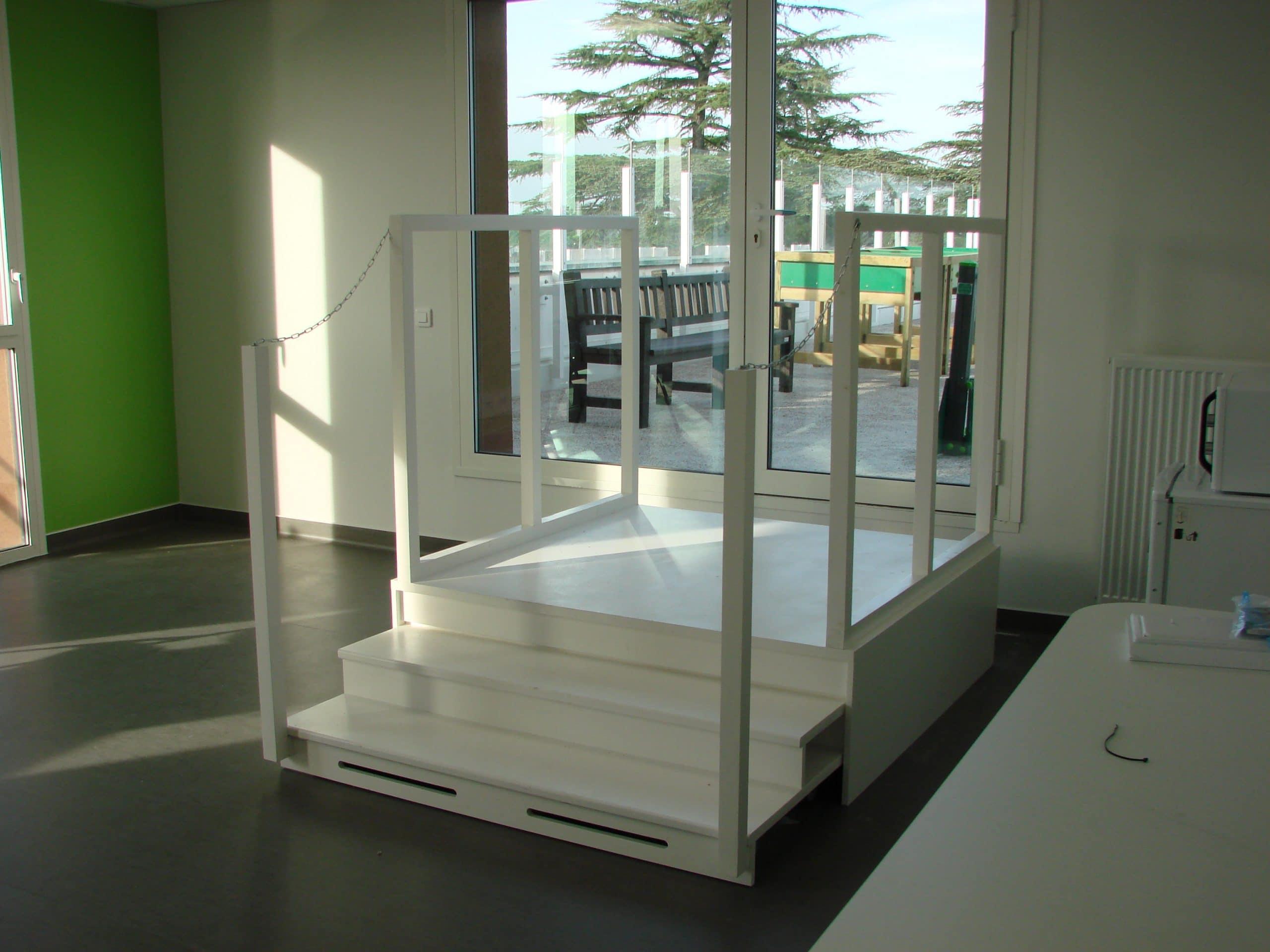 Escalier Hôpital Libourne